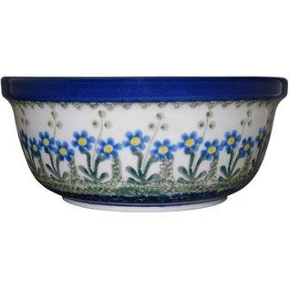 Ceramika Artystyczna Modern Bowl Size 2 Poppies Blue