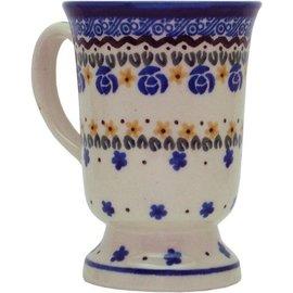 Ceramika Artystyczna Pedestal Cup Sweetheart Garland