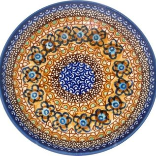 Ceramika Artystyczna Dinner Plate Cottage Amber Signature