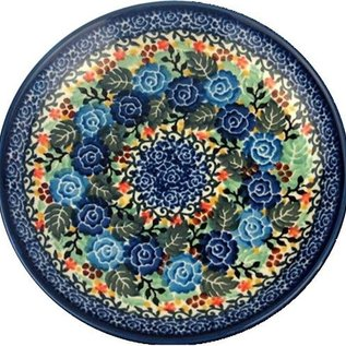 Ceramika Artystyczna Dinner Plate Juliet Rose Blue Signature