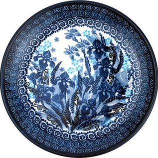 Ceramika Artystyczna Dinner Plate Midnight Gardens Signature