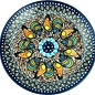 Ceramika Artystyczna Dinner Plate Sienna Rooster Signature