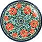 Ceramika Artystyczna Dinner Plate Celeste Coral Signature