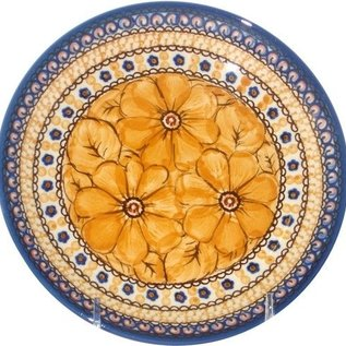 Ceramika Artystyczna Dinner Plate Cosmos Tangerine Signature 4