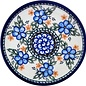 Ceramika Artystyczna Bread & Butter Plate Apple Blossom Blue