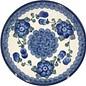Ceramika Artystyczna Bread & Butter Plate Blue Rose