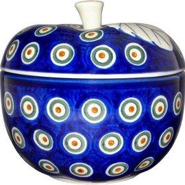 Ceramika Artystyczna Apple Baker Royal Peacock