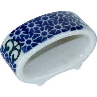 Ceramika Artystyczna Napkin Ring Stained Glass