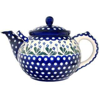 Ceramika Artystyczna Teapot Size 6 Royal Forget Me Not