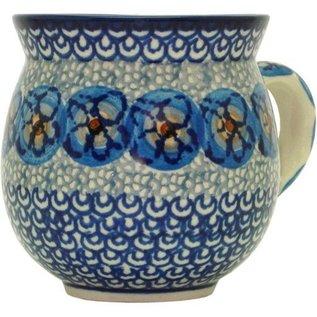 Ceramika Artystyczna Bubble Cup Small Cottage Blue Slate Signature
