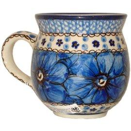 Ceramika Artystyczna Bubble Cup Medium Cosmos Blue Signature 4