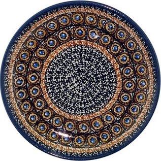 Ceramika Artystyczna Luncheon Plate Zanzibar Chai Signature