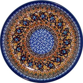 Ceramika Artystyczna Luncheon Plate Cottage Amber C Signature