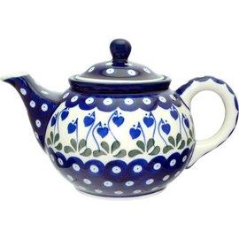 Ceramika Artystyczna Teapot Size 2 Royal Hanging Hearts