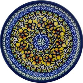 Ceramika Artystyczna Bread & Butter Plate Cottage Yellow Signature