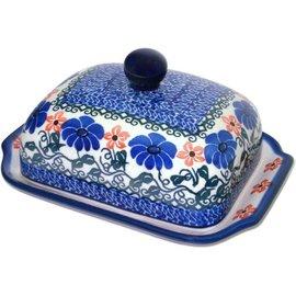 Ceramika Artystyczna Domed Butter Dish Morning Vista