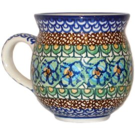 Ceramika Artystyczna Bubble Cup Medium Cottage Green Signature