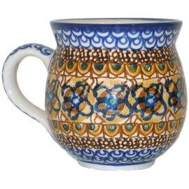 Ceramika Artystyczna Bubble Cup Medium Cottage Amber Signature