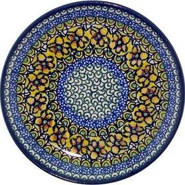 Ceramika Artystyczna Luncheon Plate Cottage Yellow Signature