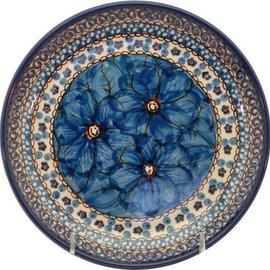 Ceramika Artystyczna Luncheon Plate Cosmos Blue Signature 4