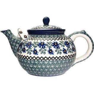 Ceramika Artystyczna Teapot Size 4 Periwinkle