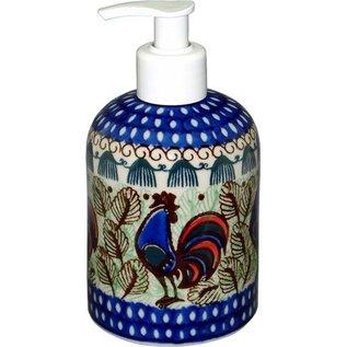 Ceramika Artystyczna Soap Lotion Pump Rooster (Chanticleer) Signature