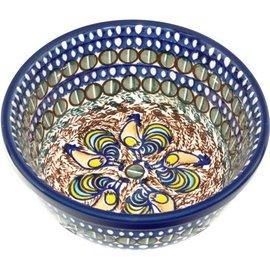 Ceramika Artystyczna Modern Bowl Size 2 Sienna Rooster Signature
