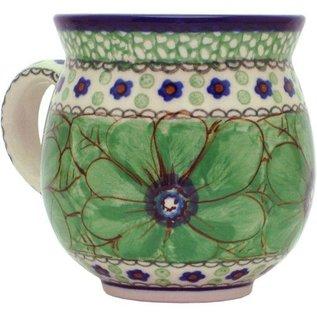 Ceramika Artystyczna Bubble Cup Small Cosmos Green Signature 4