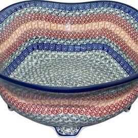 Ceramika Artystyczna Footed Presentation Bowl Size 2 Autumn