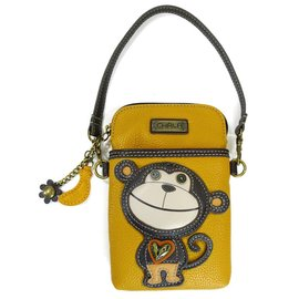 Chala Cell Phone Crossbody Silly Monkey