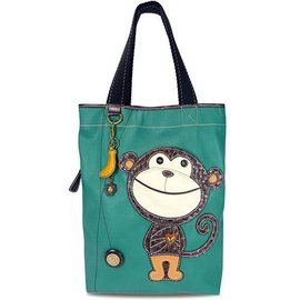 Chala Everyday Tote Monkey with Banana Charm