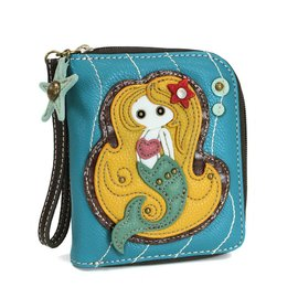 Chala Zip Around Wallet Mermaid Blue