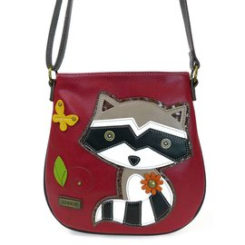 Chala Crossbody Raccoon Burgundy