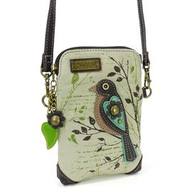 Chala Cellphone Crossbody Safari Bird Canvas