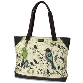 Chala Canvas Tote Safari Birds