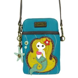 Chala Cell Phone Crossbody Mermaid Blue