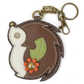 Chala Coin Purse Key Fob Hedgehog