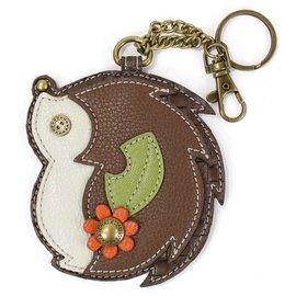 Chala Coin Purse Key Fob Hedgehog
