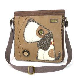 Chala Messenger Bag Dog Brown