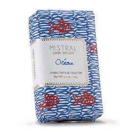 Mistral Mistral Bar Soap 100g Papiers Fantaisie Ocean