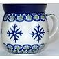 Ceramika Artystyczna Bubble Cup Small Snowflake