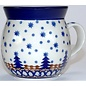 Ceramika Artystyczna Bubble Cup Small Starry Night Blue