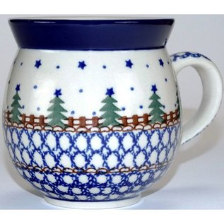 Ceramika Artystyczna Bubble Cup Small Starry Night Green