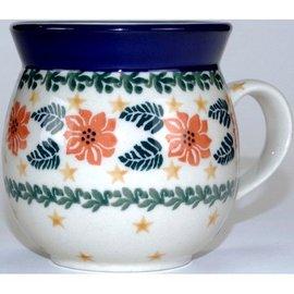 Ceramika Artystyczna Bubble Cup Small Winter Celebration