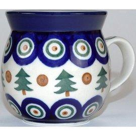 Ceramika Artystyczna Bubble Cup Medium Royal Evergreen