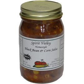 Spirit Valley Black Bean & Corn Salsa