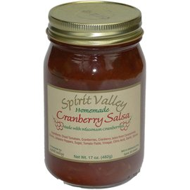 Spirit Valley Cranberry Salsa