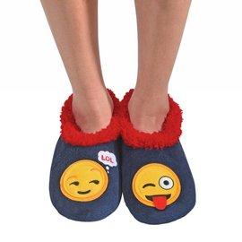 Snoozies Snoozie Splitz Emoji Blue