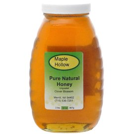 Maple Hollow Honey Clover Blossom Glass 32 oz.
