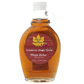 Maple Hollow Maple Syrup Cranberry Syrup 8 oz.